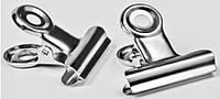 Прищепка для фиксации арки металлическая для акрила 1 шт., для наращивания ногтей