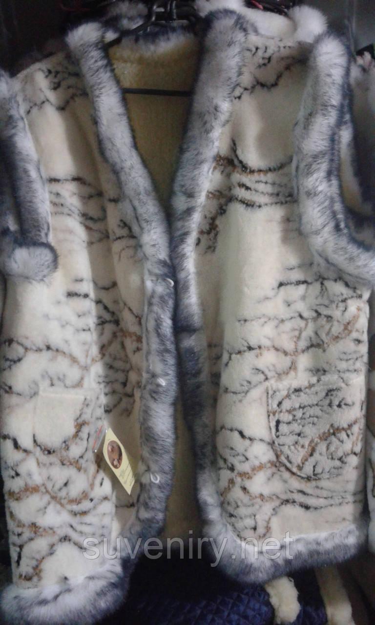 Очень теплая жилетка из овчины большие размеры разные виды
