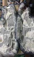Красивая теплая жилетка из овечьей шерсти