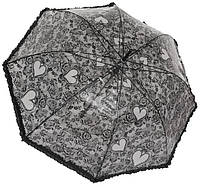 Зонт женский трость 1070 black