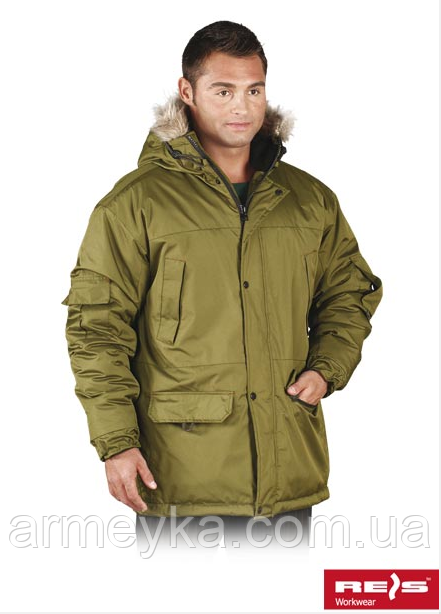 "Зимняя водонепроницаемая куртка ""Аляска"" (олива). Reis, Польша."