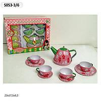 Посуда металлическая игрушечная S053-3/6 купить в Харькове подарок для девочки
