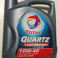 Масло TOTAL QUARTZ ENERGY 7000 10w40 4L