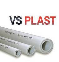Труба с алюминиевой фольгой PPR stabi VS Plast 20*3.4  для водопровода и отопления (Украина)