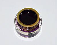 Гель краска для ногтей SP 002 чёрная