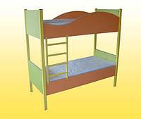 Кровать детская 2-х ярусная 1458х650х1408 мм.