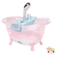 Интерактивная ванночка для куклы BABY BORN ВЕСЕЛОЕ КУПАНИЕ свет, звук Zapf (822258)