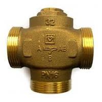 Трехходовой клапан DN32 Herz-Teplomix с отключаемым байпасом