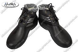 Мужские сапоги черные (Код: М-3)