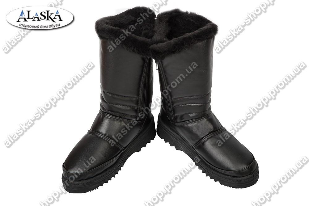 Женские сапожки (Код: 704 черный)