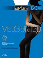 Колготки щільні з мікрофібри Omsa Velour 120 den