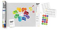 """Карта желаний и визуализаций """"Dream&Do"""" / доска визуализации в тубусе / опт"""