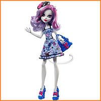 Кукла Monster High Катрин Де Мяу (Catrine DeMew) из серии Shriek Wrecked Монстр Хай