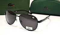 Мужские солнцезащитные очки Lacoste 8023 цвет черный