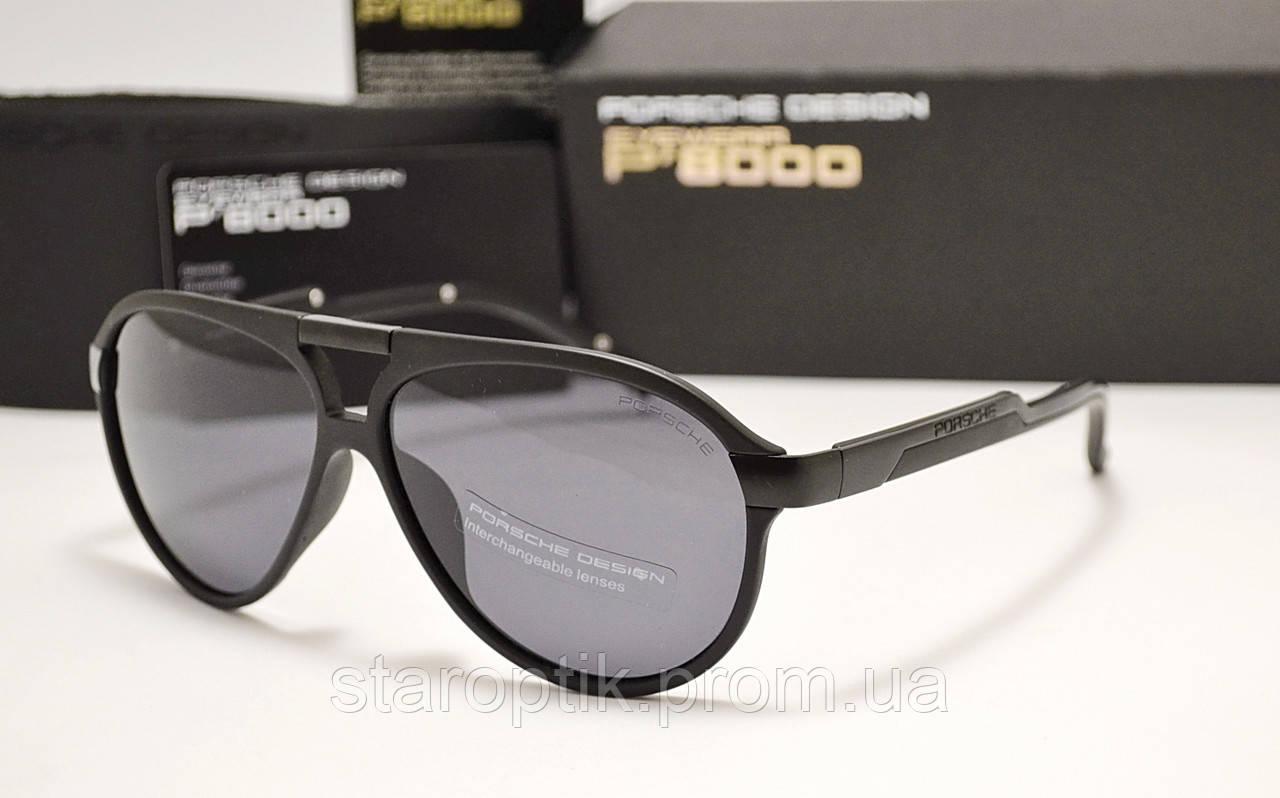 Мужские солнцезащитные очки Porsche Design 8527 цвет черный, фото 1
