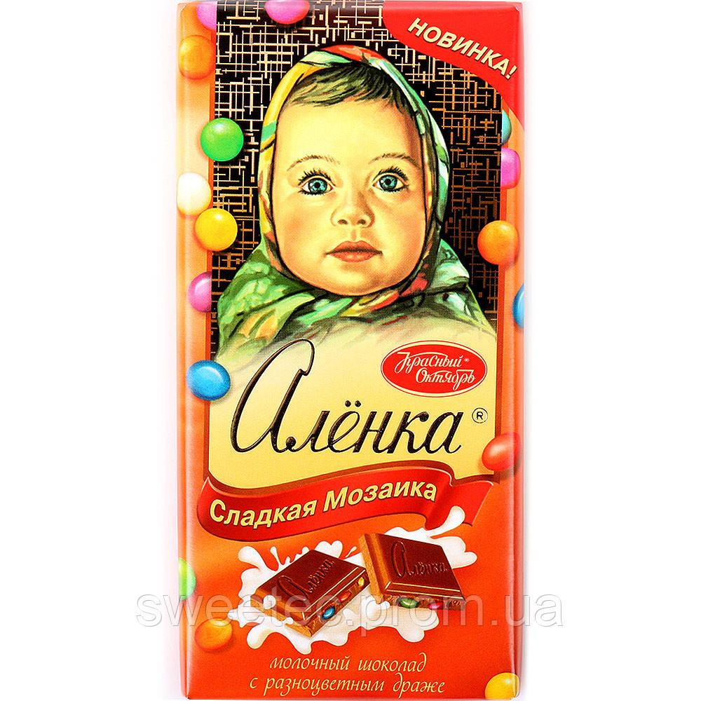 вставить лицо в шоколад аленка онлайн