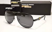 Мужские солнцезащитные очки Porsche Design 8615 цвет черный