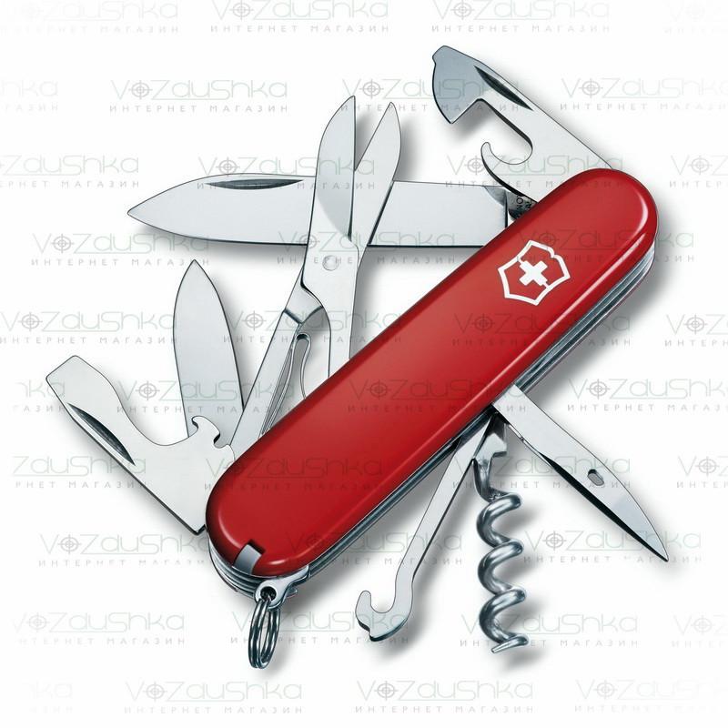 Нож Victorinox Climber 1.3703 красный, 15 функций