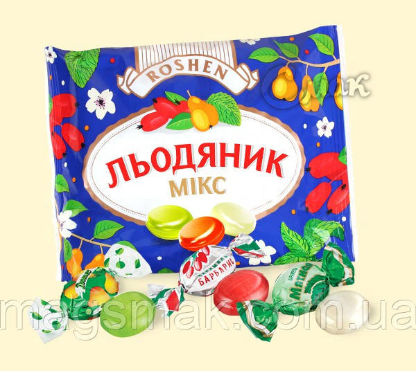 """Леденцы """"Микс"""", Рошен, 200 г"""