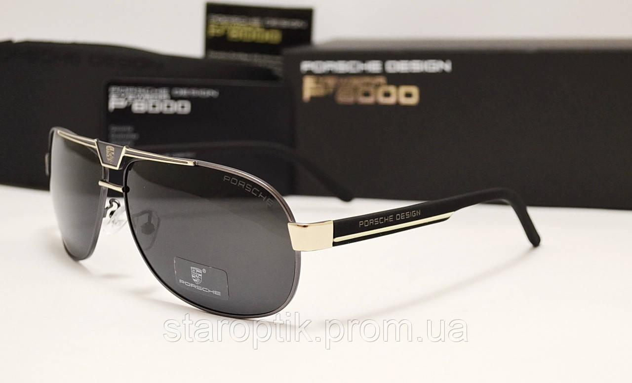 Мужские солнцезащитные очки Porsche Design 8497 цвет черный с серебром -  Star Optik в Одессе 5e626ed3020