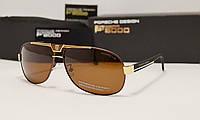 Мужские солнцезащитные очки Porsche Design 8497 коричневый цвет, фото 1