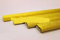 Гофрированная металлизированная бумага Креп Cartotecnica Rossi - Золотая
