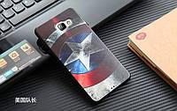 Чехол для Samsung Galaxy A7/A710 с картинкой Щит Капитана Америка