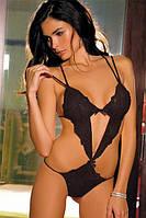 Сексуальное боди черного цвета Rene Rofe Lingerie, S/М, М/L