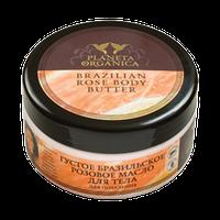 """Масло для тела густое бразильское розовое """"Для похудения"""" Planeta Organica, 300 мл."""