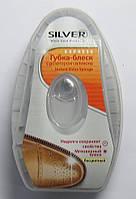 Губка-блеск  с дозатором силикона  Silver  Shoe Products  6 мл (бесцветный)