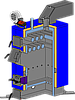 Твердотопливный котел длительного горения Неус 17 кВт, фото 5