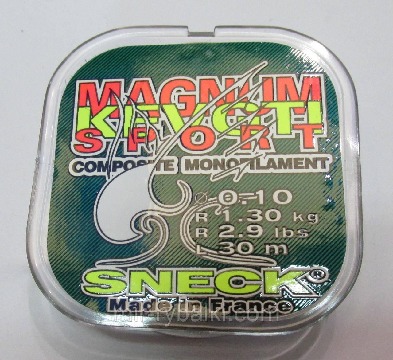 Леска Sneck Magnum Kevgti Sport 0.10mm 30m