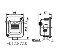 Коробка-амортизатор К-937