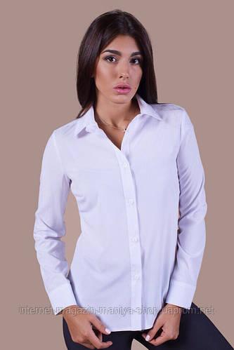 Рубашка женская классическая пуговицы