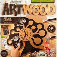 """Набор для творчества """"ART WOOD"""" подставки под чашки выпиливание лобзиком Danko Toys."""