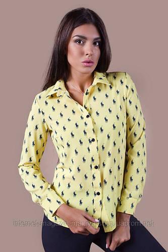 Рубашка женская  пуговицы