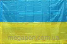 """Флаг Украины 90*140 нейлон """"Україна"""""""