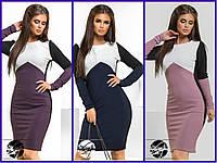 Женское стильное платье Миди 557 в расцветках