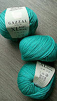 Gazzal Baby Wool XL - 832 изумруд