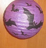 Шар-декор на Хеллоуин Летучая Мышь