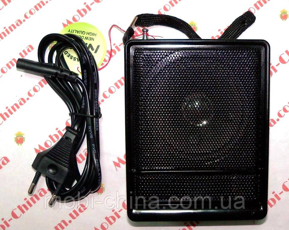 Блютуз колонка, радио NNS NS-018U, MP3 SD USB FM , black