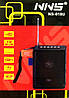 Блютуз колонка, радио NNS NS-018U, MP3 SD USB FM , black, фото 4