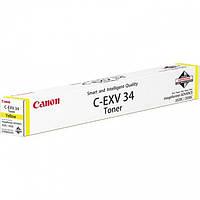 Canon C-EXV34 Yellow для iR-adv C2020/ C2030/ C2220/ C2225 (3785B002), фото 1
