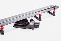 Душевой трап щелевой Pestan Confluo Premium Slim Line 55см с решеткой матовый хром