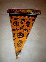 Гирлянда-флажки на Хеллоуин