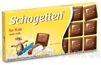 """Шоколад Schogetten (Шогеттен) """"для детей"""", 100 г, фото 2"""