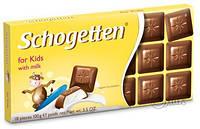 """Шоколад Schogetten (Шогеттен) """"для детей"""", 100 г"""