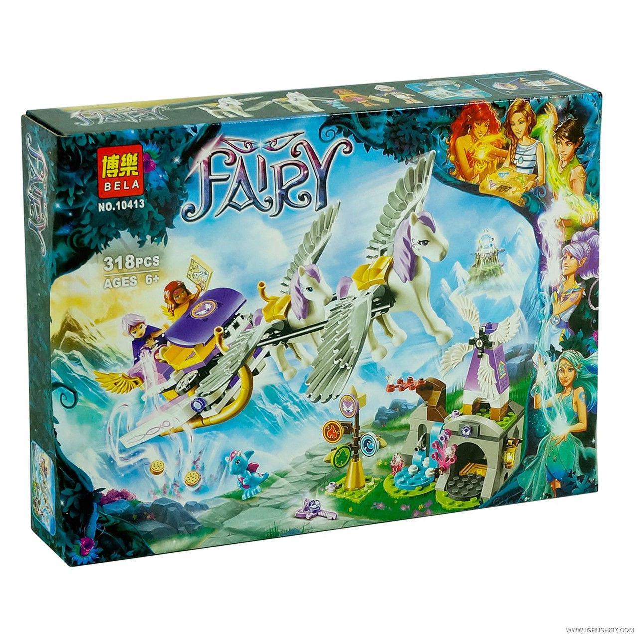 Конструктор Bela Fairy 10413 Літаючі сани Ейри 318 деталей