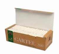 Гильзы для набивки сигарет Cartel BIO (200)