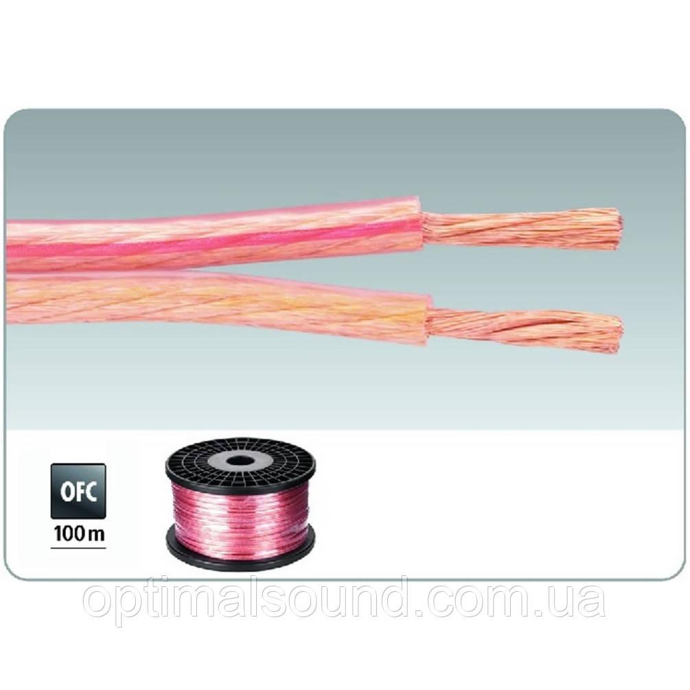 Медный акустический кабель в силиконовой изоляции 2х2.5мм2 Monacor SPC-125